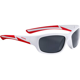 Alpina Flexxy Youth Glasses white matt-red